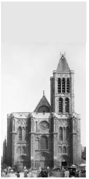 Basilique Saint-Denis en 1847