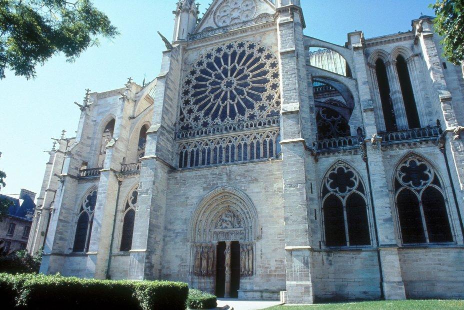 Basilique Cathédrale Saint-Denis / Portail des Valois