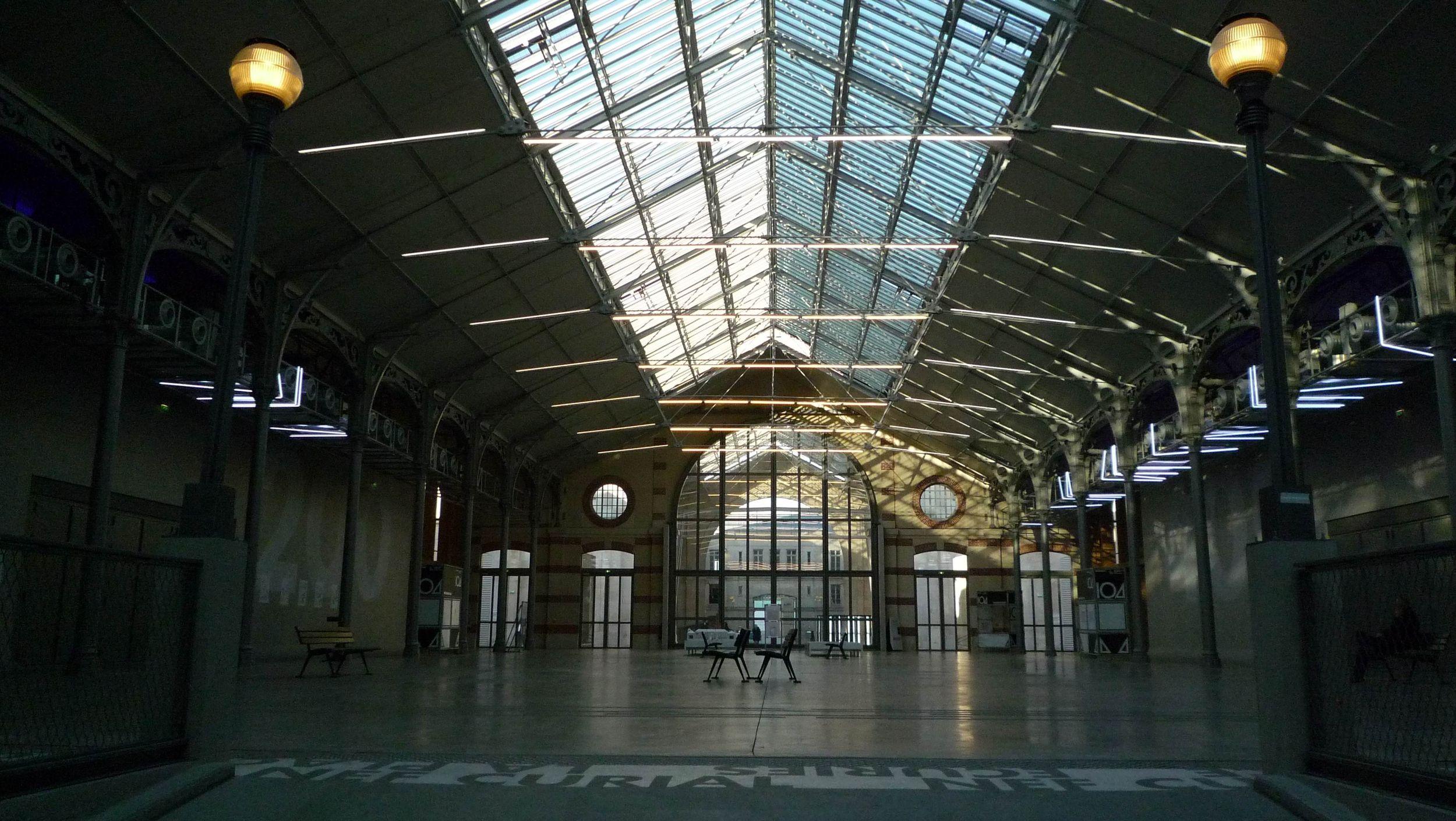 Visite pour les groupes d couvrez le cent quatre paris - Lieu exceptionnel paris ...