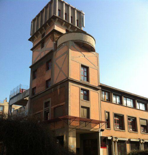 L'ancienne usine Pernod à Montreuil