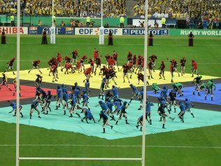 Cérémonie d'ouverture de la coupe du monde de rugby 2007 Photo : Jamin