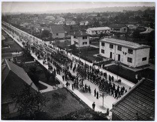 Inauguration de l'avenue du Général Leclerc © Archives municipales de Noisy-le-Sec (DR)