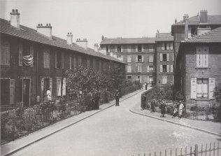 Cité de La Ruche à Saint-Denis construite grâce aux dispositions de la loi Siegfried en 1894