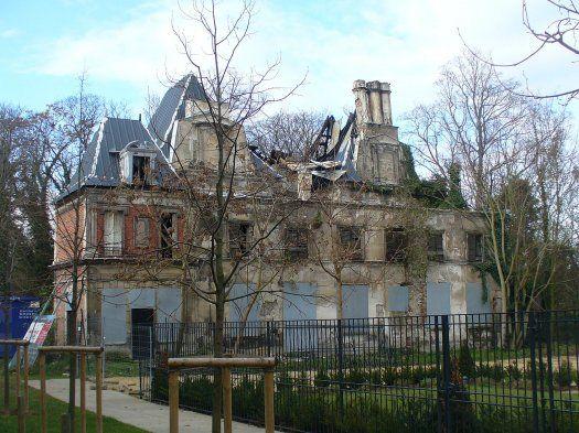 Château de Romainville sous licence public domain via Wikimedia Commons