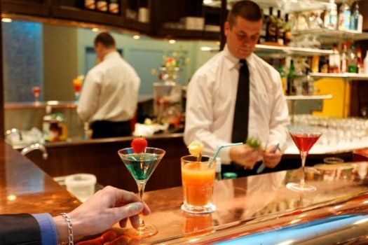 Bar de l'hôtel Manhattan