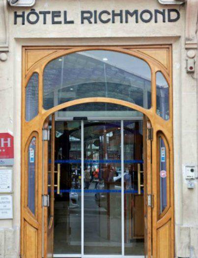 Hôtel Richmond Paris gare du Nord - entrée
