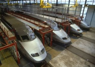 TGV maintenance yard