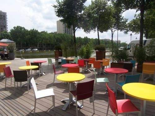 Hotel Holiday Inn Express Paris Canal de la Villette - terrasse