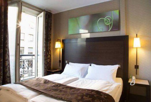 h tel andr latin paris 5e arrondissement 3 toiles hal. Black Bedroom Furniture Sets. Home Design Ideas