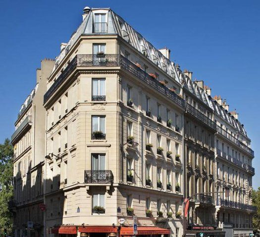 Hôtel Elysa-Luxembourg Paris - facade