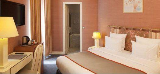 Hôtel Elysa-Luxembourg Paris - chambre