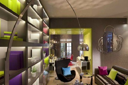 Hôtel Petit Paris - salon