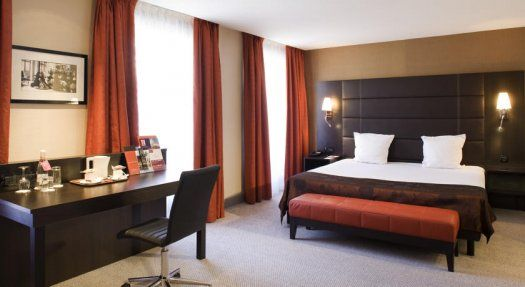 Hôtel Mercure Paris Terminus Nord chambre