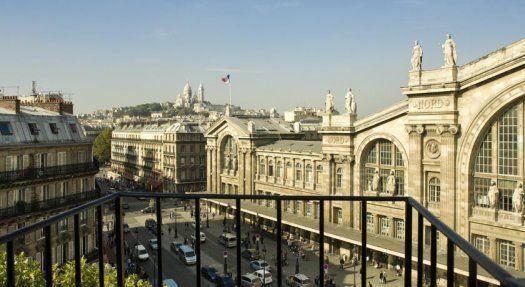 Hôtel Mercure Paris Terminus Nord balcon