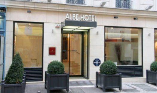 Albe hôtel - Paris St Michel - facade