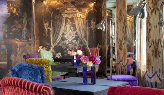 Hôtel notre dame st michel paris salon