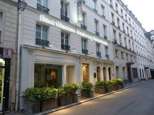 Best western hotel faubourg saint martin paris 3 toiles for Hotel best western paris