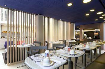 Hôtel Libertel Gare de l'Est Français restaurant