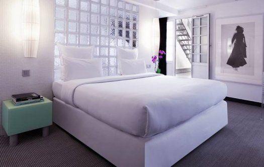 Hôtel Kube Paris - chambre