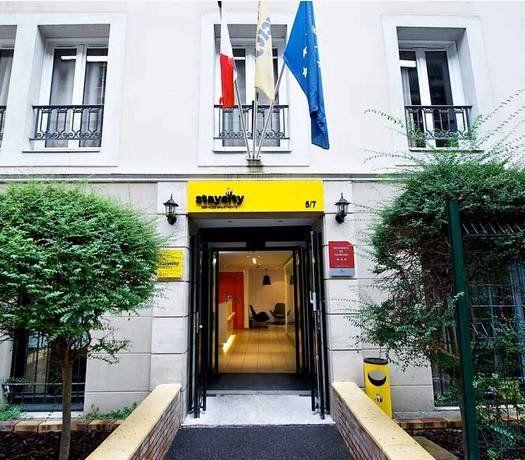 Staycity appart à Paris gare de l'Est - facade