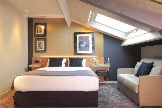 Fred Hotel Paris chambre