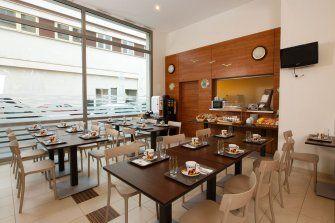Appart'Hôtel Clichy Mairie de Clichy - salle petit déjeuner