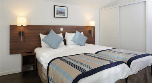 Appart Hôtel Roissy Village chambre