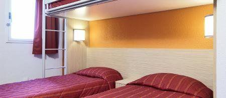 Chambre de l'hôtel Première Classe Montreuil