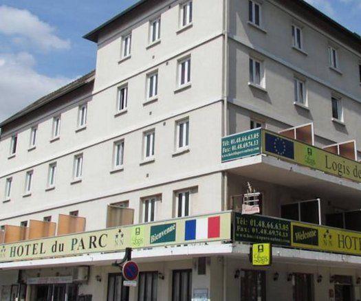 Hôtel du Parc -Aulnay sous Bois - facade
