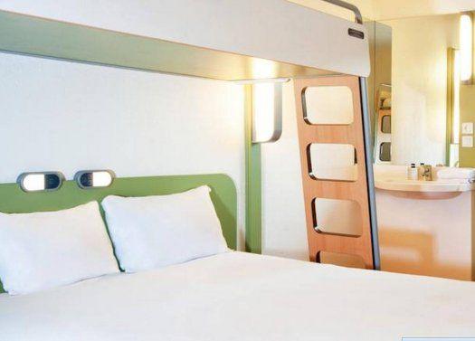 H tel ibis budget paris aubervilliers proche la villette - Chambre hotel ibis budget ...