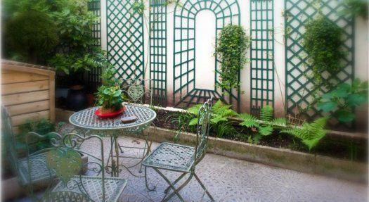 Hôtel Crimée terrasse
