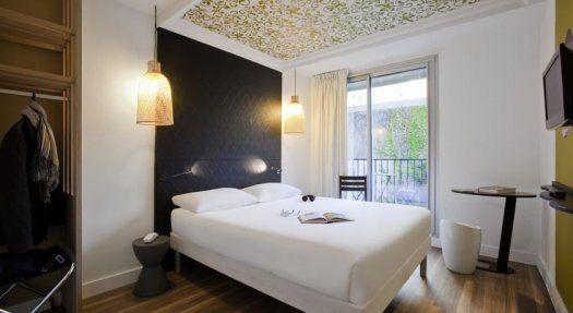 Hôtel Ibis Style Paris Buttes Chaumont chambre