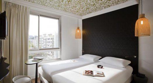 Hôtel Ibis Style Paris Buttes Chaumont chambre bis