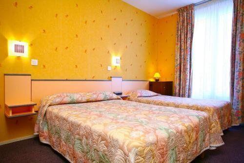 Hôtel La Perdrix Rouge chambre