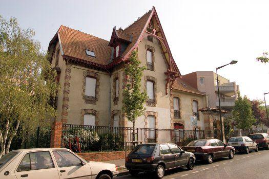 Maison bourgeoise à Villetaneuse © Erwann Quéré