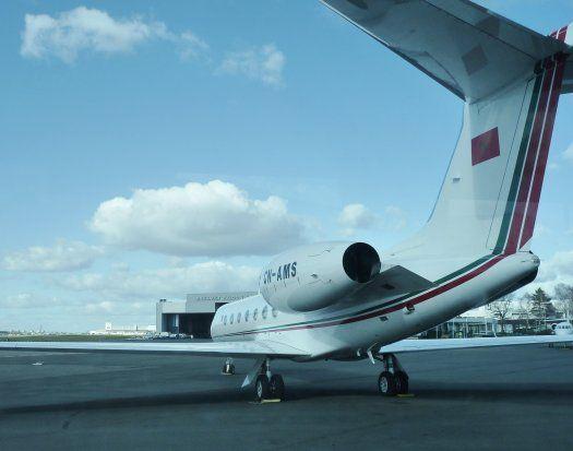 aviation d'affaires - vue arrière - le Bourget