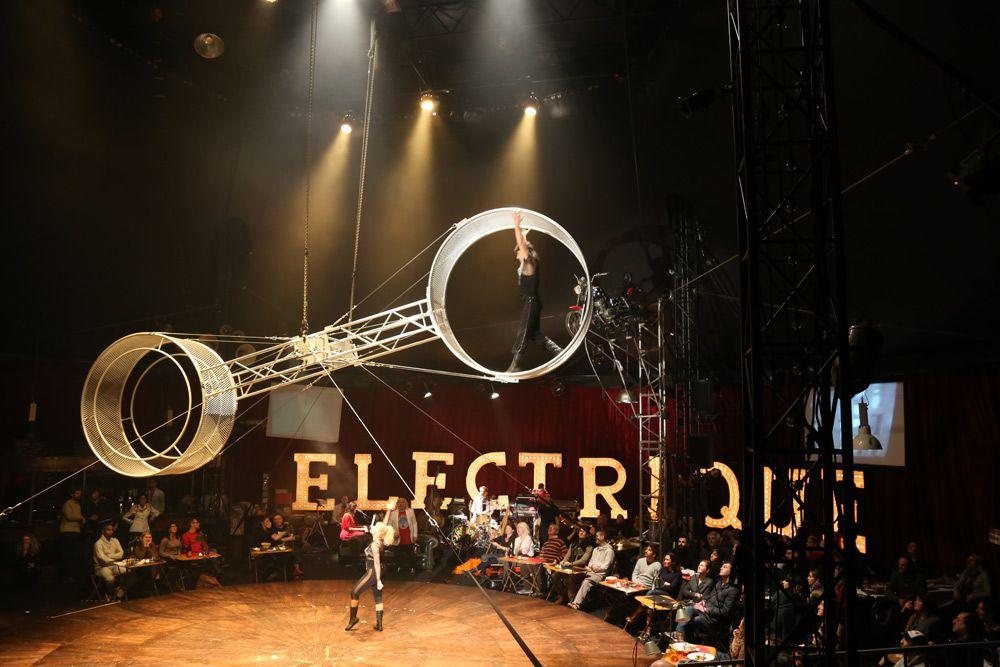 Les lilas city center and district - Le cirque electrique porte des lilas ...