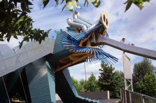 Dragon renovated by Ursula Kurz - photo Arnaux Legrain