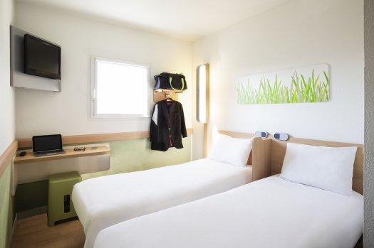 Hôtel Ibis Budget Pantin - chambre lit simple