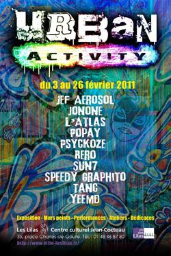 Exposition Urban Activity aux Lilas