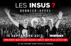 Les insus Stade de France gig