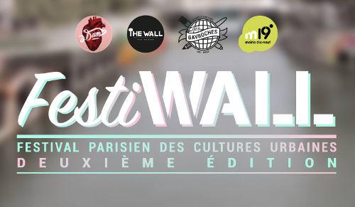 FestiWall street art festival Paris