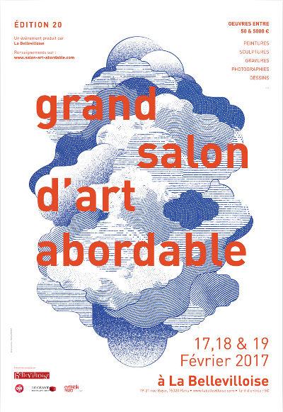 Grand salon d 39 art abordable la bellevilloise paris 20 for Grand salon d art abordable