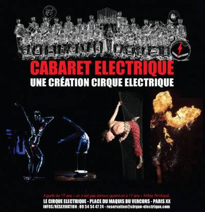 Cabaret au cirque lectrique porte des lilas - Le cirque electrique porte des lilas ...