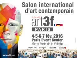 Salon d 39 art contemporain paris art3f rencontre artistes et public - Salon art contemporain paris ...