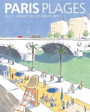 Paris Plages bassin de la Villette