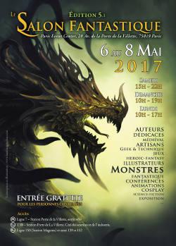 Le salon fantastique paris event center du 6 au 8 mai for Salon e learning porte de champerret
