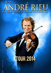 André Rieu in concert at Zénith Paris