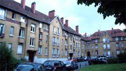 Garden-city in Les Lilas