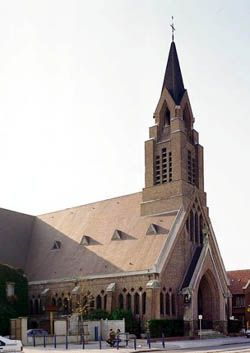 Exterior view of the church